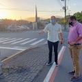 Promotor de Justiça verifica situação dos cabos soltos nas ruas em Jaraguá
