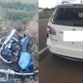 Motociclista sofre acidente grave na SC-108, em Massaranduba