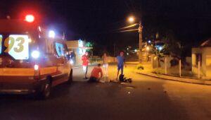 Motociclista sofre fraturas em acidente no Jaraguá Esquerdo