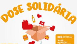 Dose solidária: prefeituras se unem em campanha de arrecadação de alimentos