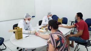 Ação de testes em assintomáticos contabiliza 858 testes realizados em Guaramirim