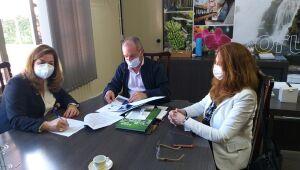 Prefeitura de Corupá assina contrato com a FURB para atualizar Plano Diretor