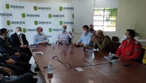 Entidades discutem ações para diminuir índices de acidentes de trânsito em Jaraguá