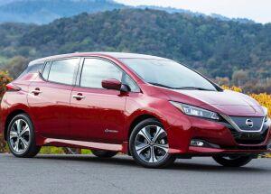 O elétrico Nissan Leaf chega ao Brasil por R$ 195.000,00