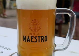 """""""Cervejas artesanais só com colarinho!"""""""