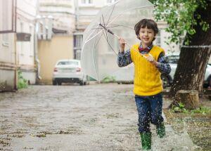 Seis atividades para as crianças em dias de chuva