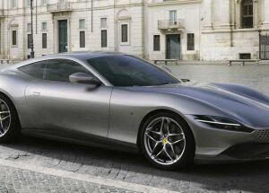 Roma é o nome da nova Ferrari