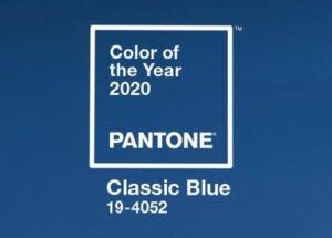 Pantone elege 'classic blue' como a cor de 2020