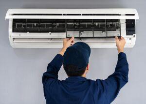 Ar condicionado requer limpeza preventiva