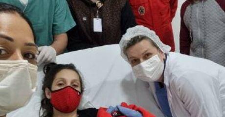 Gestante em trabalho de parto é encaminhada ao hospital pelos bombeiros de Massaranduba