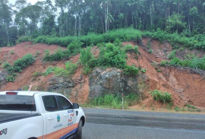 Chuva constante deixa Defesa Civil de Guaramirim em alerta