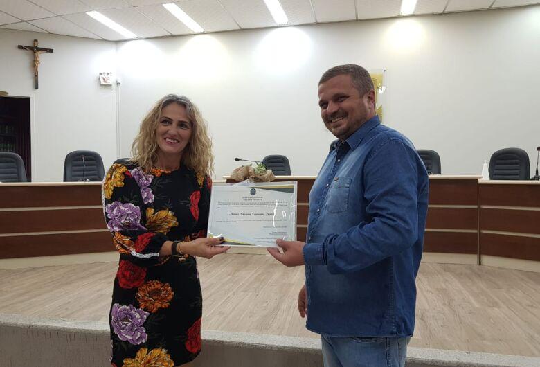 Maria Rosana assume vaga na Câmara de Guaramirim
