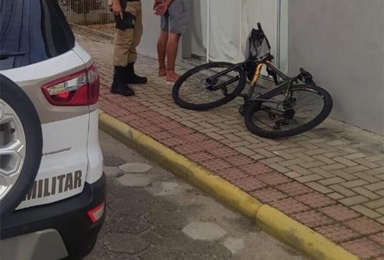 Bicicleta furtada é recuperada após denúncia à PM