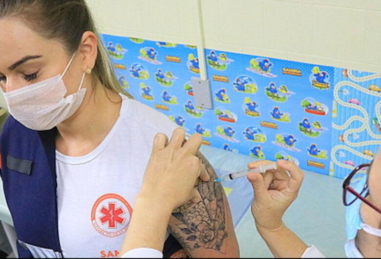 Prossegue a vacinação contra a Covid-19 em Jaraguá