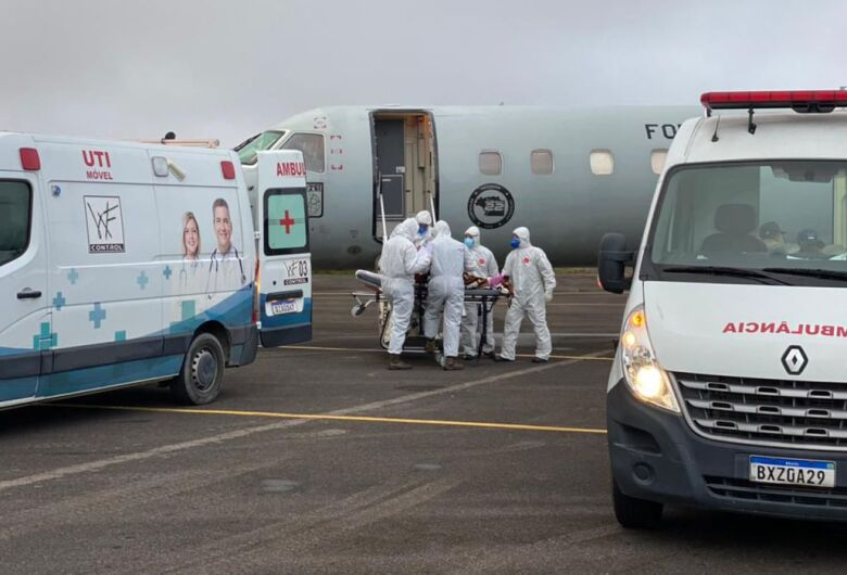 Manaus vai transferir 235 pacientes com covid-19 para 7 estados e DF