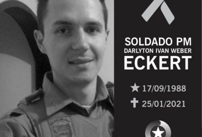 Soldado da PM de Schroeder morre aos 32 anos