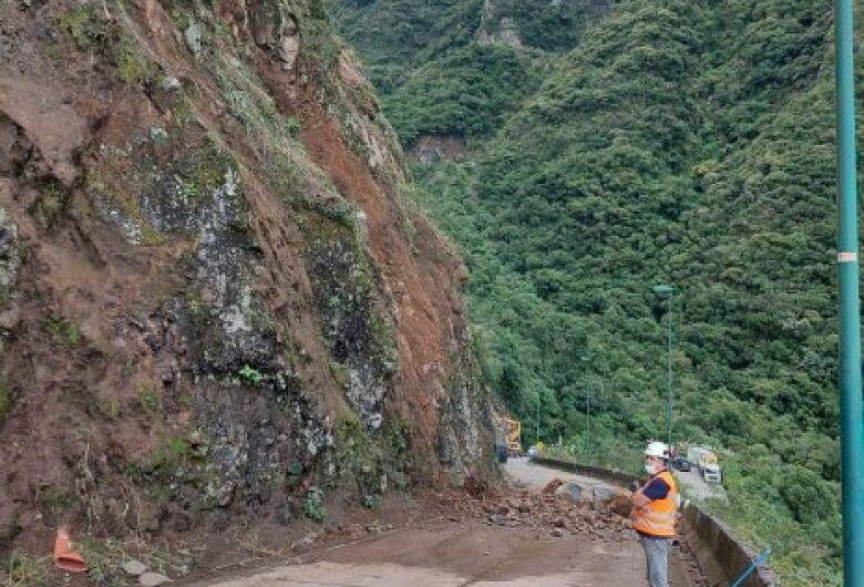 Serra do Rio do Rastro está temporariamente interditada para obras de contenção