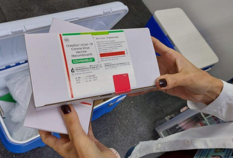 Jaraguá recebe 1.020 doses da vacina de Oxford-AstraZeneca