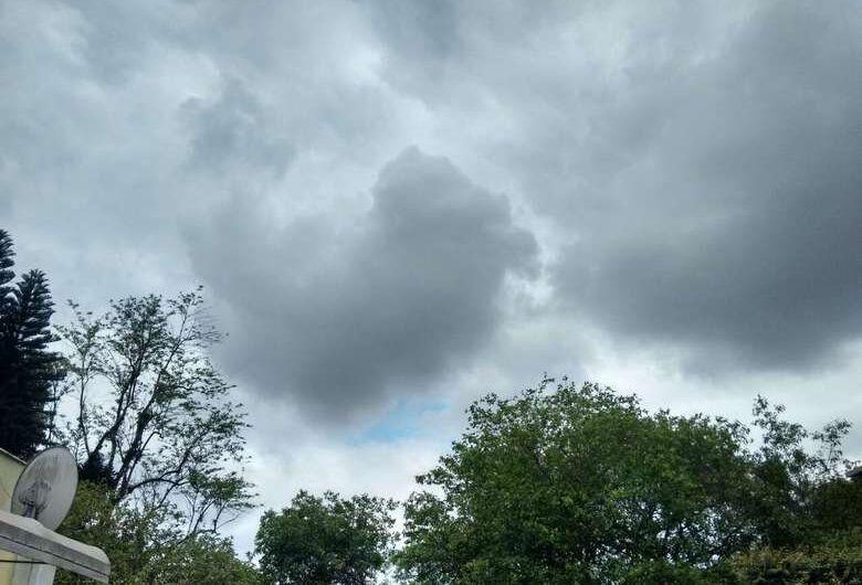 SC tem previsão de chuva intensa no fim de semana