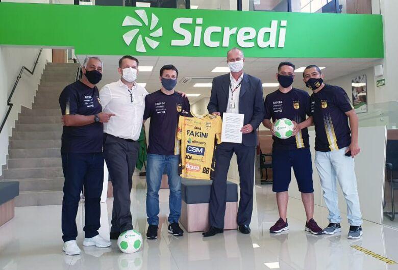 Sicredi e Jaraguá Futsal renovam parceria para 2021