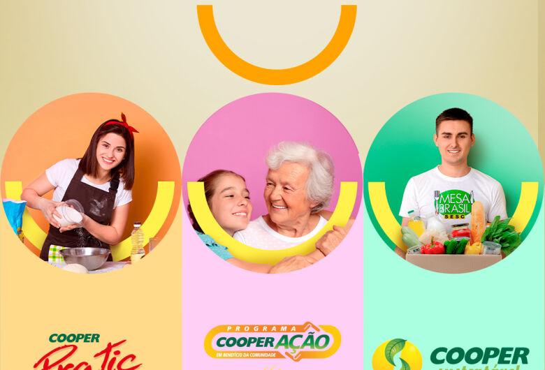 Doação de 94 toneladas de alimentos e R$ 395 mil reforça propósito das cooperativas