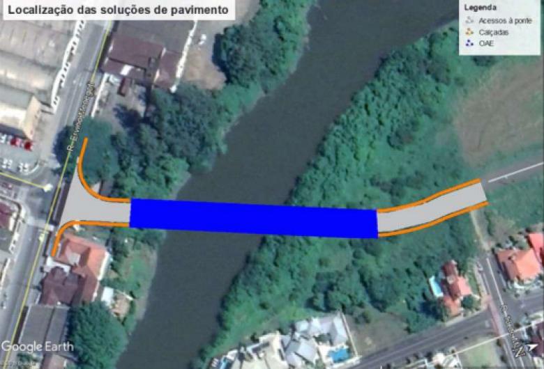 Com recurso aprovado, construção da ponte da Menegotti será licitada