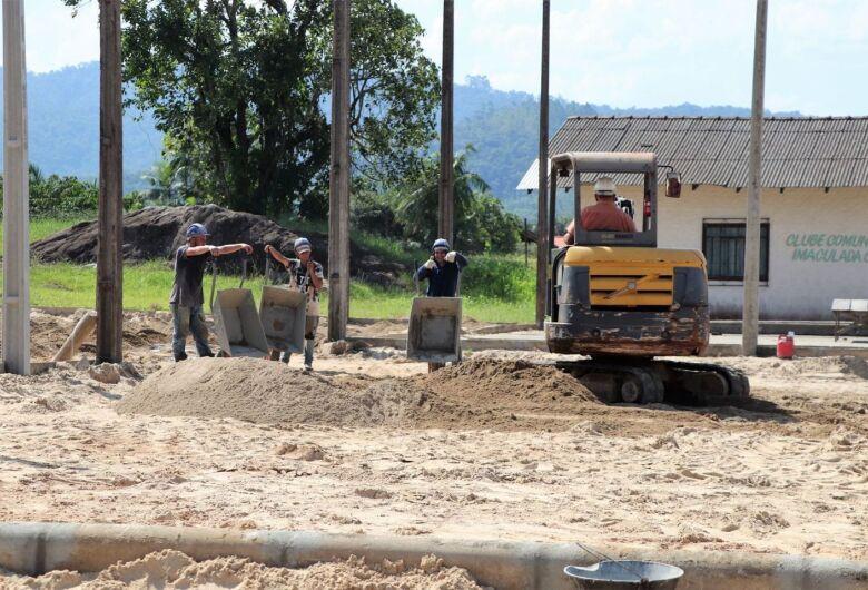 Inicia ampliação e revitalização de praças de lazer em Jaraguá