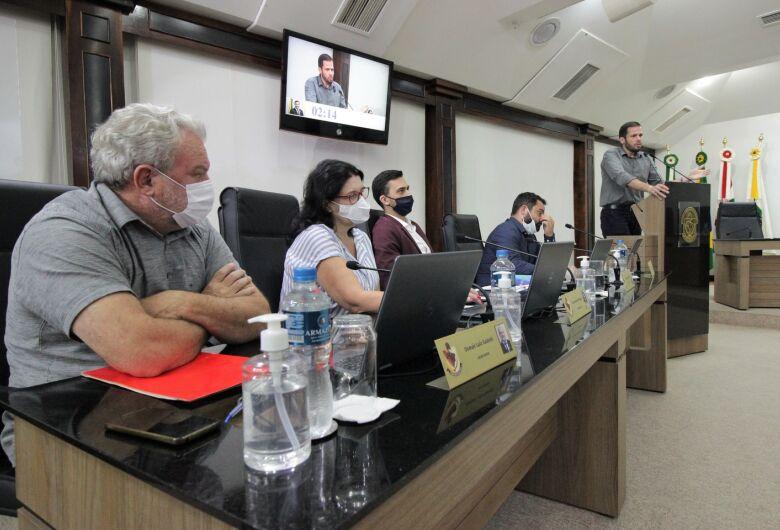 Código de Ética passa pela primeira votaçãona Câmara de Jaraguá