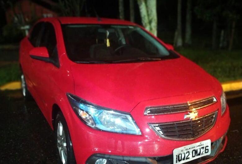 PRF recupera veículo horas depois de ser roubado na BR 101 em Joinville