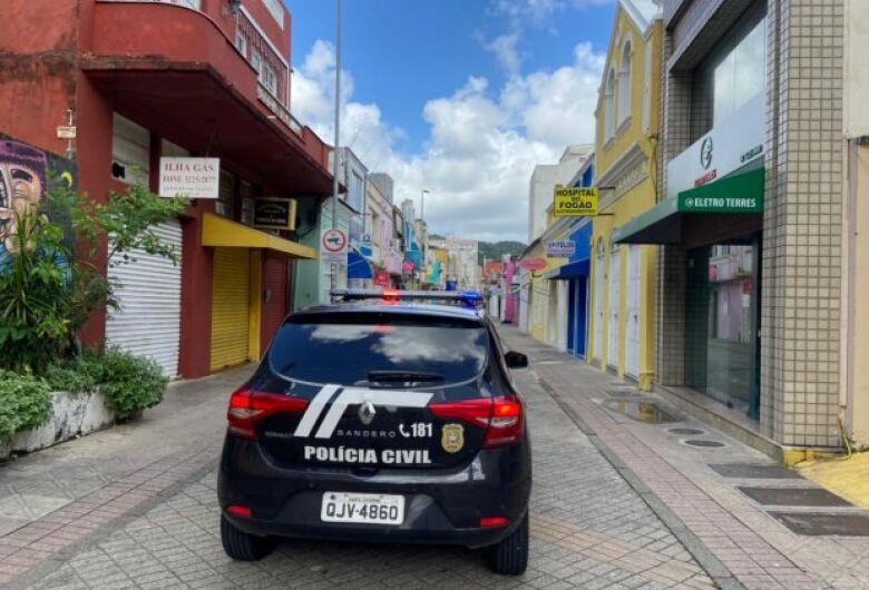 Polícia segue na fiscalização para o co cumprimento do Decreto em SC