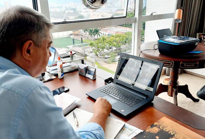 Covid-19: Lunelli busca estratégia conjunta com municípios do Norte de SC