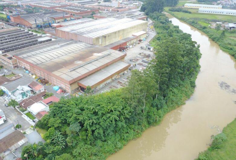 Weg vai ajudar a recuperar a mata ciliar do Rio Itapocu, em Jaraguá