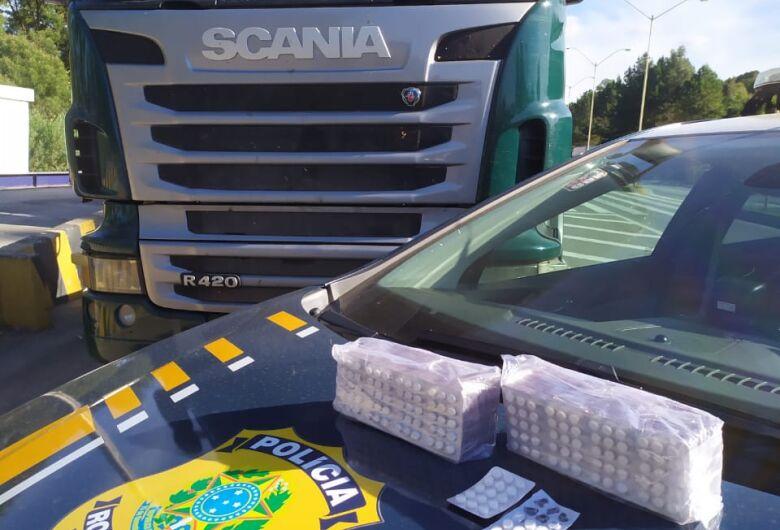 Motorista é preso com mais de 1,5 mil comprimidos de rebite em Rio Negrinho