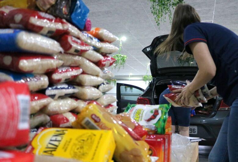 Entidades recebem doações da campanha VacinAção Solidária em Jaraguá