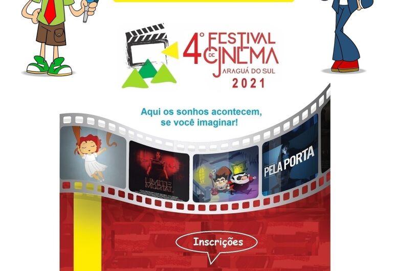 Inscrições para o Festival de Cinema de Jaraguá terminam no dia 30 de abril