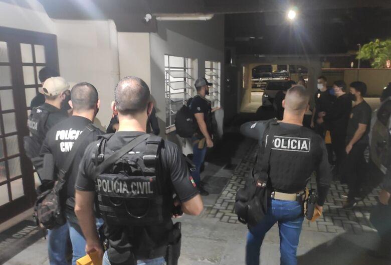 Polícia Civil realiza operação contra o tráfico de drogas em Jaraguá e Joinville