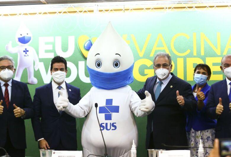 Campanha de vacinação contra a gripe deve imunizar 80 milhões