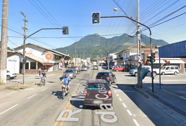 Semáforo está desativado no Bairro Vieira, em Jaraguá