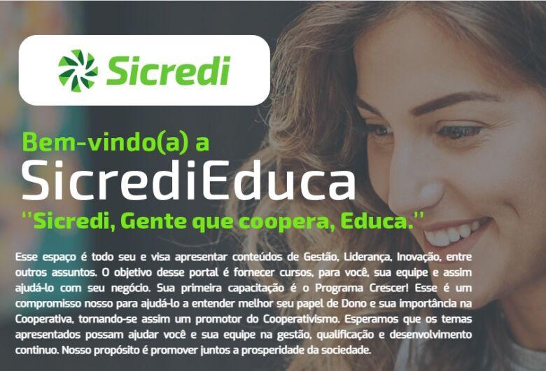 Sicredi lança plataforma digital com cursos gratuitos para associados