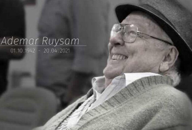 Legislativo jaraguaense lamenta morte de Ademar Ruysam