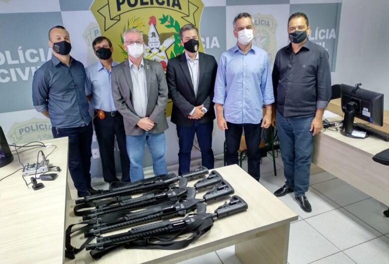 Civil de Jaraguá ganha novas armas
