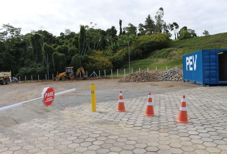 PEV de Jaraguá passa por obras de melhorias na infraestrutura