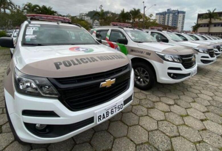 Procurado da Justiça é preso após veículo ser apontado por monitoramento em Jaraguá