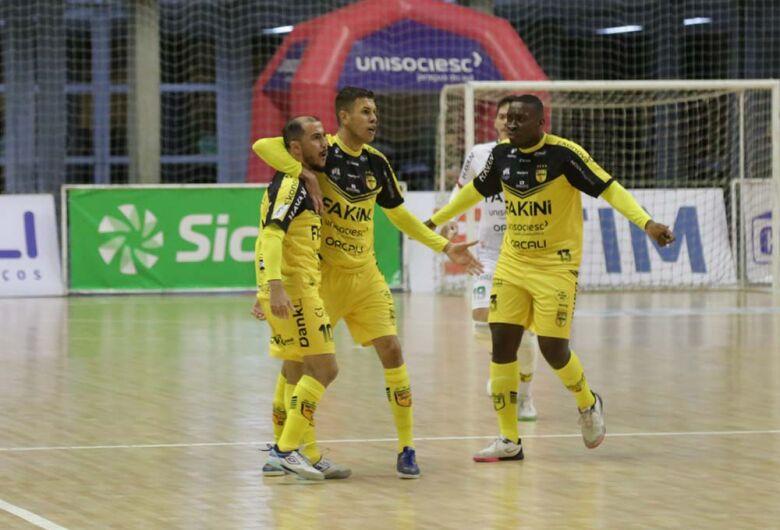 Jaraguá Futsal classificado para as oitavas de final da Copa do Brasil
