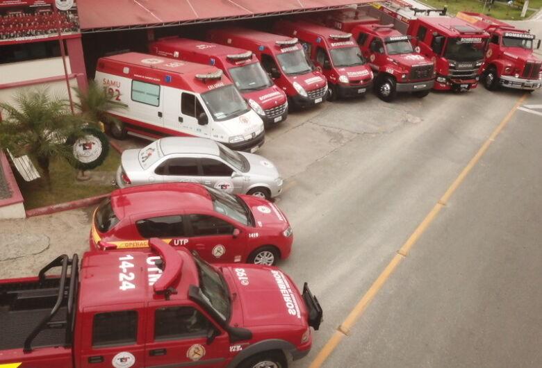 Colisão  entre moto e caminhão deixa homem ferido em Guaramirim