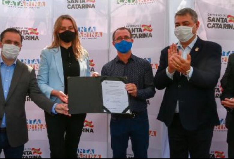 Assinada ordem de serviço para obras de arte na BR-280, em Guaramirim