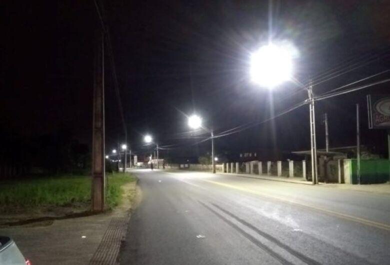 Vereador pede mais iluminação pública em áreas rurais de Jaraguá