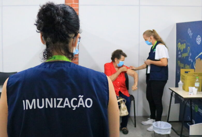 Saúde reforça necessidade da segunda dose da vacina contra covid