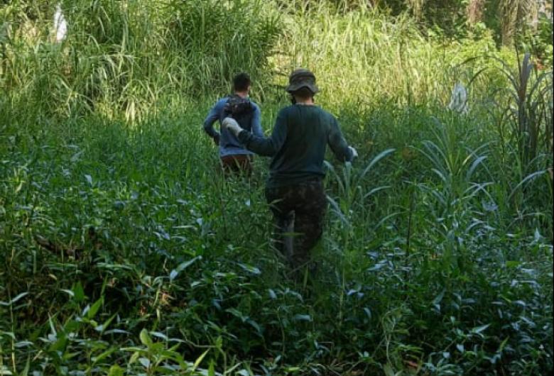 Equipe técnica faz mapeamento das nascentes em Jaraguá