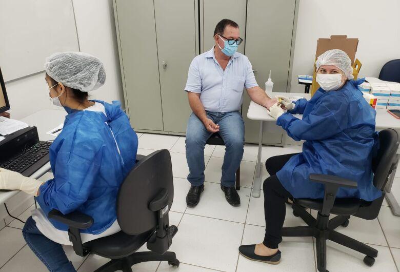 Guaramirim faz mais de 500 testes para Covid-19 em pessoas assintomáticas